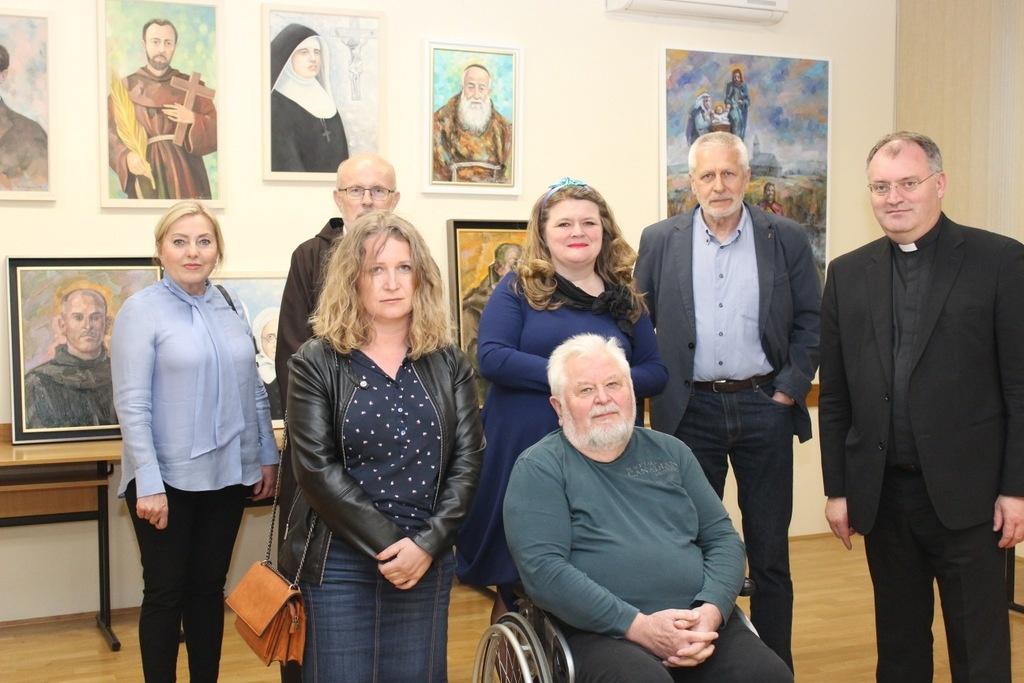 Otvorena izložba hrvatskih svetaca i blaženika kod kapucina u Gornjoj Dubravi