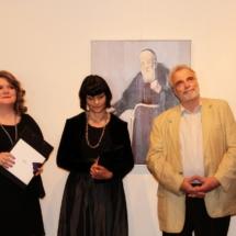 002 Otvorenje izložbe, autorica Ivana Ćavar, Stanko Špoljarić, Tanja Baran