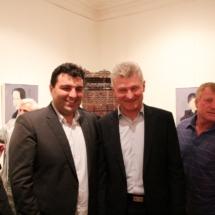004 Križevački gradonačelnički kandidati, aktualni gradonačelnik Branko Hrg i Mario Rajn