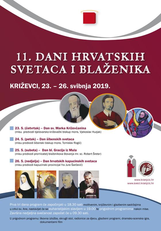 Najava 11. Dana hrvatskih svetaca i blaženika